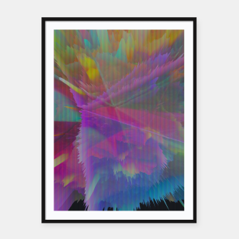 Thumbnail image of 014 Framed poster, Live Heroes