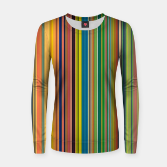 Colors of Gauguin Women sweater Bild der Miniatur