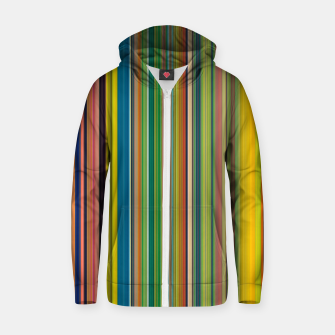Imagen en miniatura de Colors of Gauguin Zip up hoodie, Live Heroes