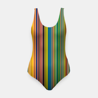 Colors of Gauguin Swimsuit obraz miniatury