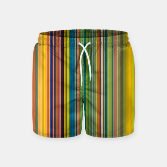 Colors of Gauguin Swim Shorts Bild der Miniatur