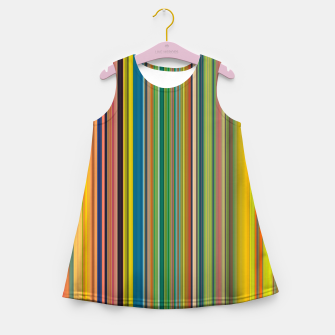 Miniature de image de Colors of Gauguin Girl's summer dress, Live Heroes
