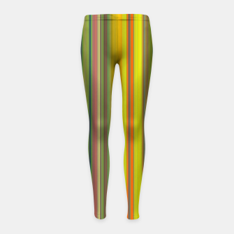 Colors of Gauguin Girl's leggings obraz miniatury