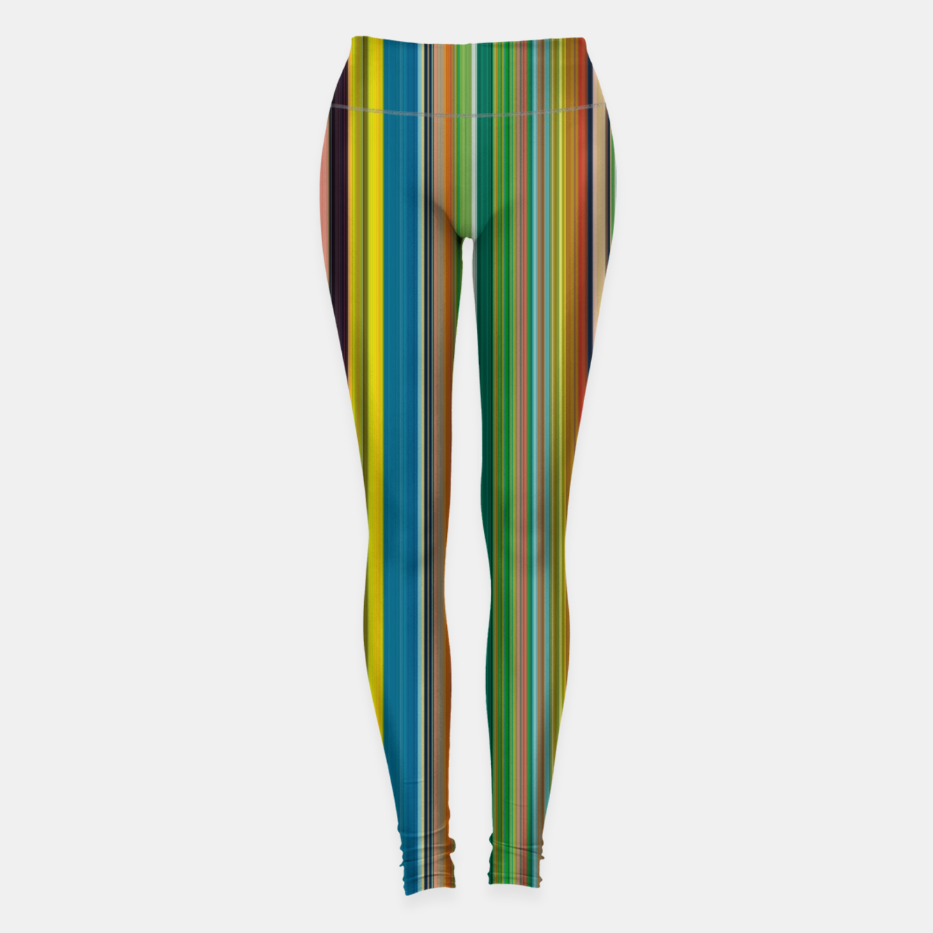 Zdjęcie Colors of Gauguin Leggings - Live Heroes