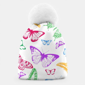 Thumbnail image of Butterflies Beanie, Live Heroes