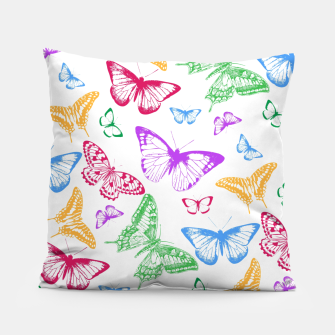 Thumbnail image of Butterflies Pillow, Live Heroes