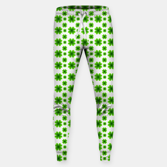 Thumbnail image of Shamrocks Pattern Sweatpants, Live Heroes