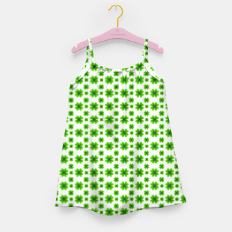 Imagen en miniatura de Shamrocks Pattern Girl's dress, Live Heroes