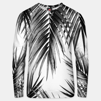 Miniaturka Palm Leaf Jungle Vibes #3 #tropical #decor #art Unisex sweatshirt, Live Heroes