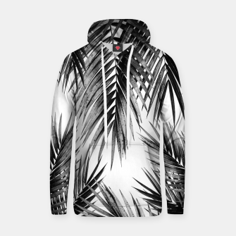 Miniaturka Palm Leaf Jungle Vibes #3 #tropical #decor #art Kapuzenpullover, Live Heroes