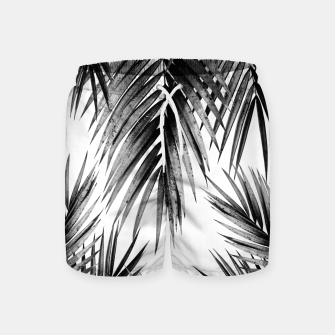 Miniaturka Palm Leaf Jungle Vibes #3 #tropical #decor #art Badeshorts, Live Heroes