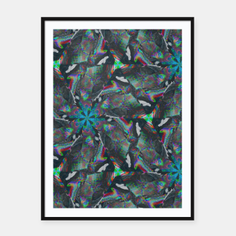 Thumbnail image of 015 Framed poster, Live Heroes