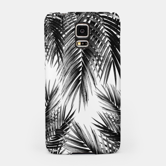 Miniaturka Palm Leaf Jungle Vibes #3 #tropical #decor #art Handyhülle für Samsung, Live Heroes