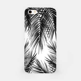 Miniaturka Palm Leaf Jungle Vibes #3 #tropical #decor #art iPhone-Hülle, Live Heroes