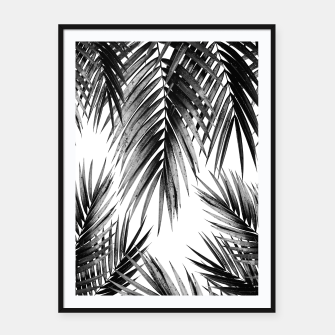 Miniaturka Palm Leaf Jungle Vibes #3 #tropical #decor #art Plakat mit rahmen, Live Heroes