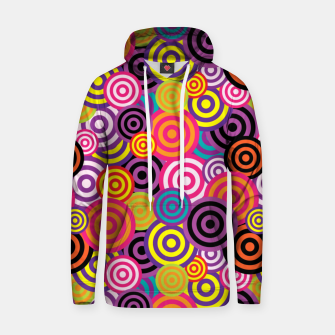 Thumbnail image of Abstract Circles Hoodie, Live Heroes