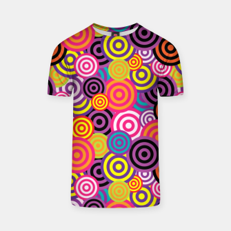 Miniaturka Abstract Circles T-shirt, Live Heroes