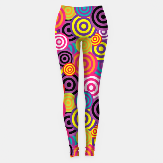 Miniaturka Abstract Circles Leggings, Live Heroes