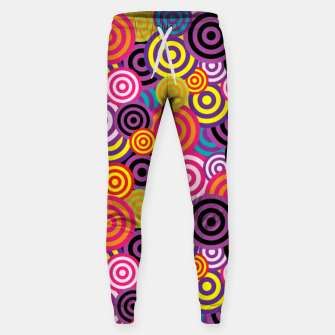 Miniaturka Abstract Circles Sweatpants, Live Heroes