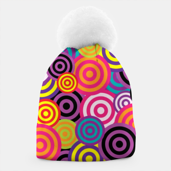 Thumbnail image of Abstract Circles Beanie, Live Heroes