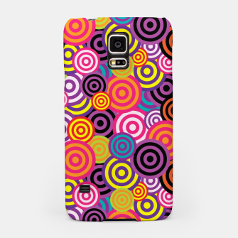 Miniaturka Abstract Circles Samsung Case, Live Heroes