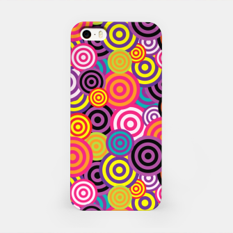 Thumbnail image of Abstract Circles iPhone Case, Live Heroes