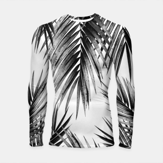 Miniaturka Palm Leaf Jungle Vibes #3 #tropical #decor #art Longsleeve rashguard, Live Heroes