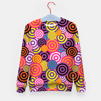 Miniaturka Abstract Circles Kid's sweater, Live Heroes