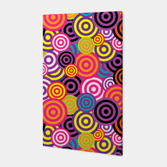 Miniature de image de Abstract Circles Canvas, Live Heroes