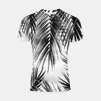 Miniaturka Palm Leaf Jungle Vibes #3 #tropical #decor #art Shortsleeve rashguard, Live Heroes