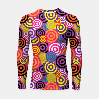 Thumbnail image of Abstract Circles Longsleeve rashguard , Live Heroes