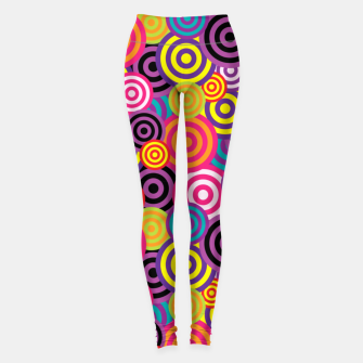 Miniatur Abstract Circles Leggings, Live Heroes