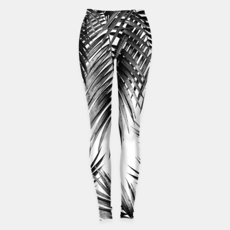Miniaturka Palm Leaf Jungle Vibes #3 #tropical #decor #art Leggings, Live Heroes