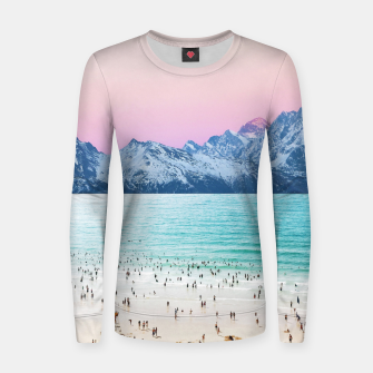 Thumbnail image of The Island Women sweater, Live Heroes