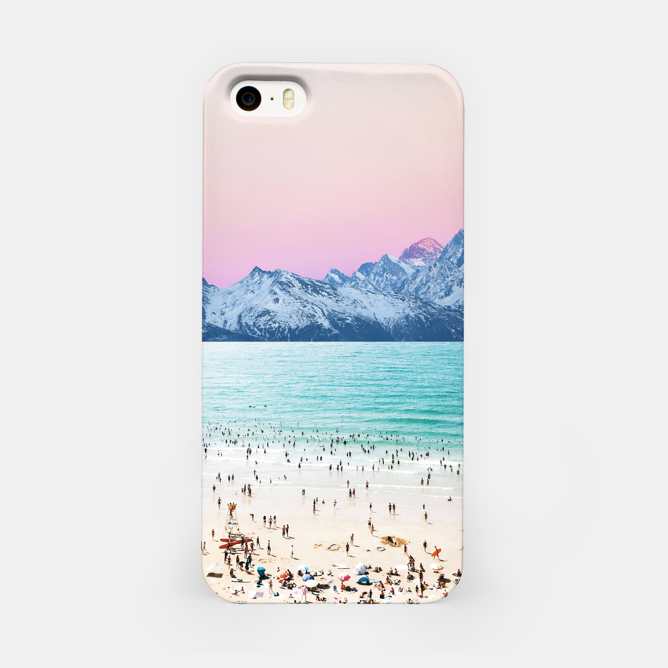 Foto The Island iPhone Case - Live Heroes