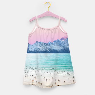 The Island Girl's dress miniature