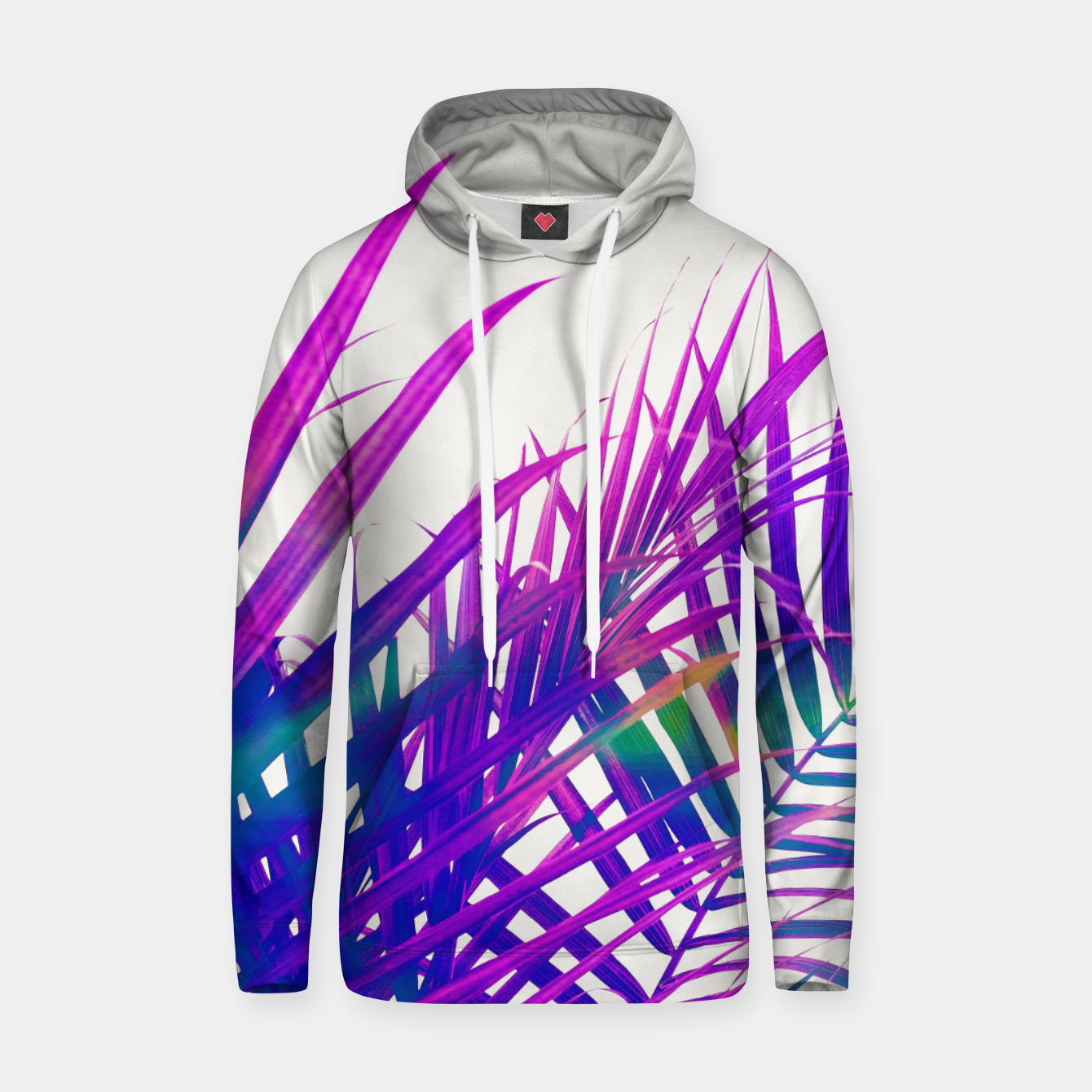 Image of Colorful Palm Hoodie - Live Heroes