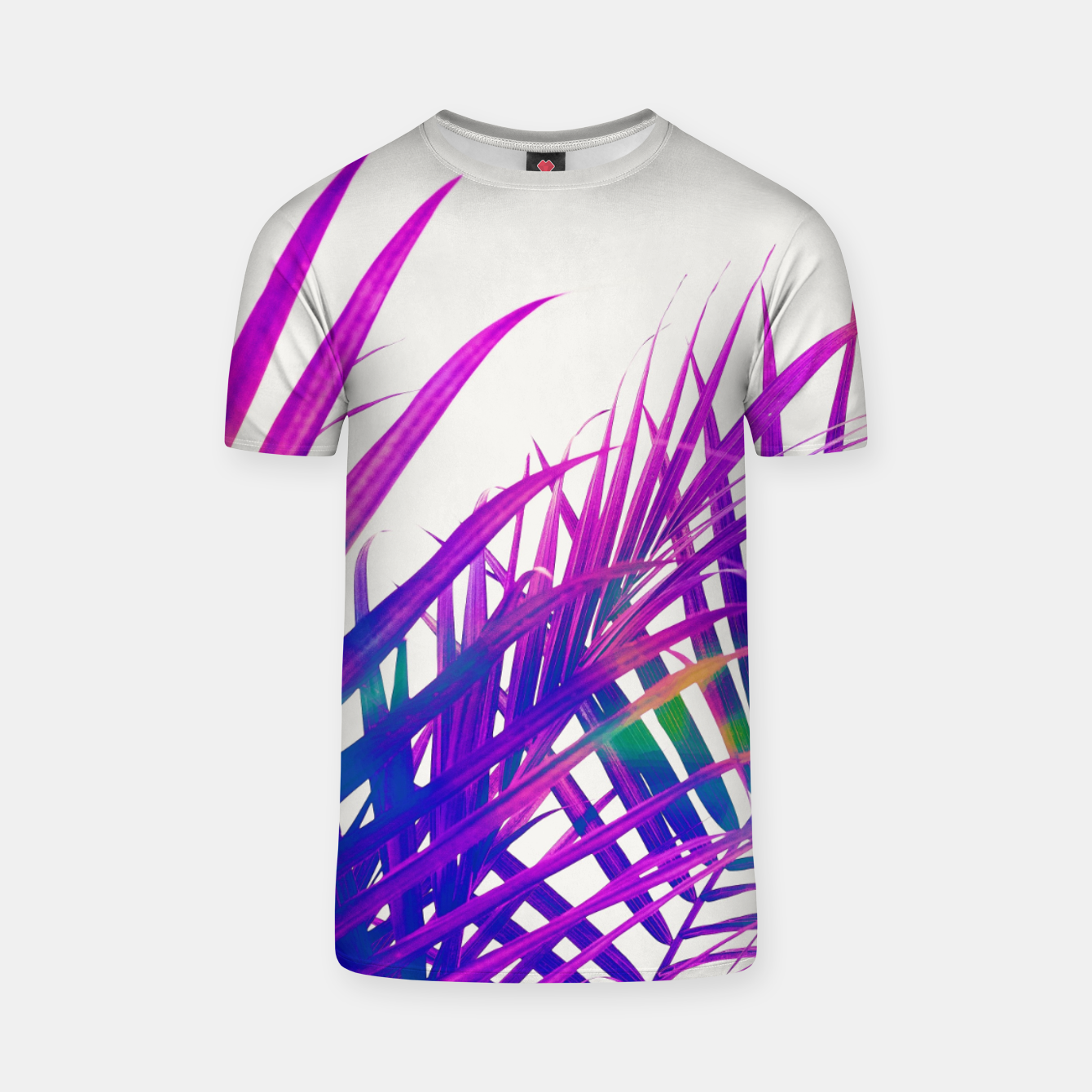 Foto Colorful Palm T-shirt - Live Heroes