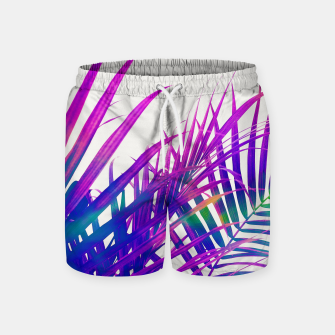 Thumbnail image of Colorful Palm Swim Shorts, Live Heroes