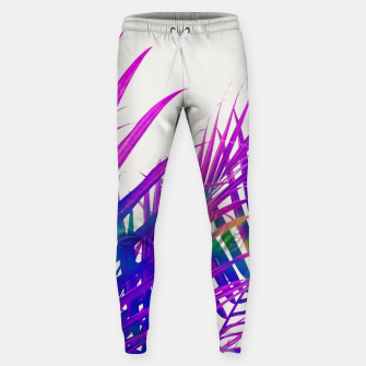 Colorful Palm Sweatpants Bild der Miniatur