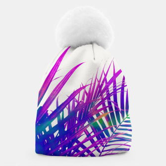 Thumbnail image of Colorful Palm Beanie, Live Heroes