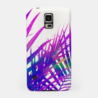 Colorful Palm Samsung Case miniature
