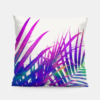 Colorful Palm Pillow miniature