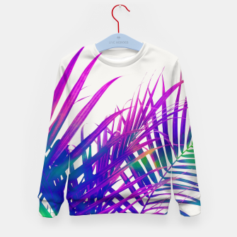 Colorful Palm Kid's sweater miniature
