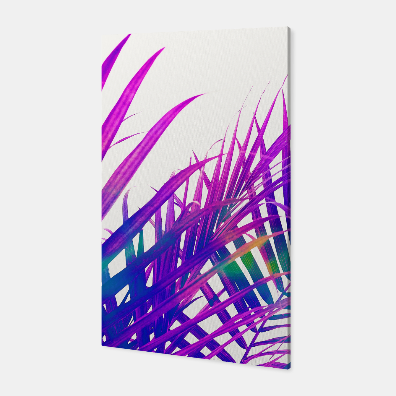 Foto Colorful Palm Canvas - Live Heroes