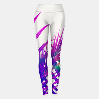 Thumbnail image of Colorful Palm Leggings, Live Heroes