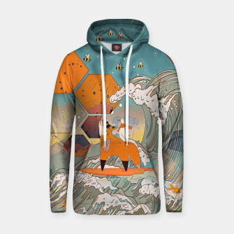 Thumbnail image of The fox and the duck Hoodie, Live Heroes