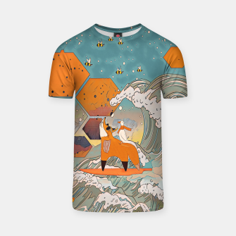 Thumbnail image of The fox and the duck T-shirt, Live Heroes