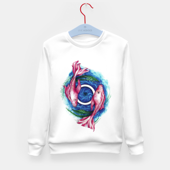 Thumbnail image of Fish whirlpool Kid's sweater, Live Heroes