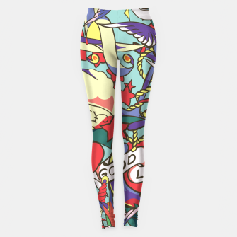 Miniaturka Good Luck Leggings, Live Heroes